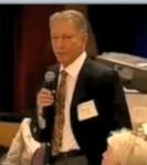 Werner Erhard at a LeadershipConference