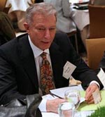 Werner Erhard at an Academic Conference in 2008
