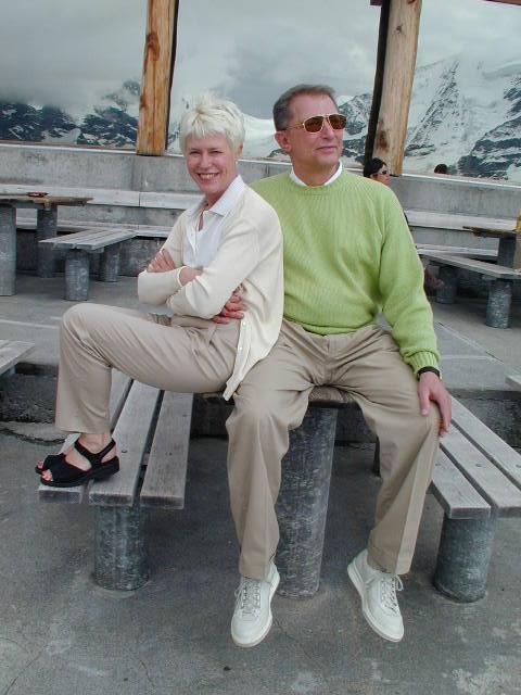 Werner Erhard and Gonneke Spits