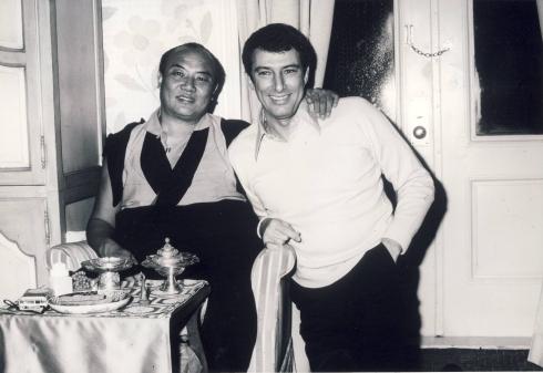 Werner Erhard and His Holiness the XVI Gyalwa Karmapa