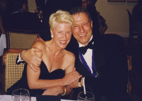 Gonneke Spits and Werner Erhard
